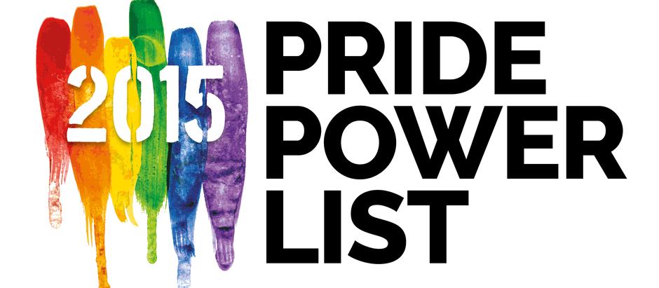 PRIDE POWER LIST 2015