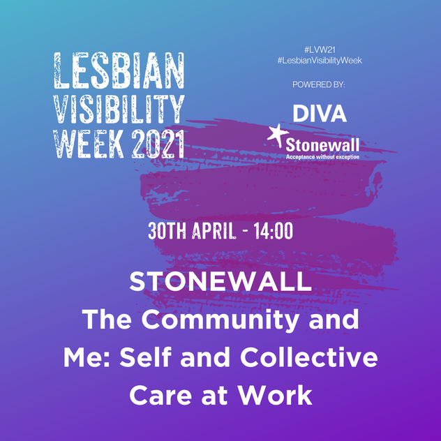 STONEWALL - THE COMMUNITY AND ME