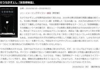 飯沢耕太郎氏のレビュー掲載