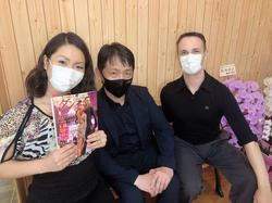 with Editor Mr Kawakubo