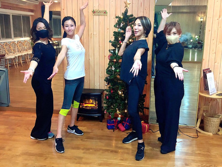 Dance exercise class!