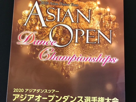 Asian open competition!