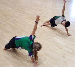Children Side Plank