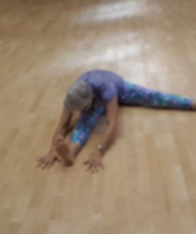 Yin yoga connections Upavistha Konasana