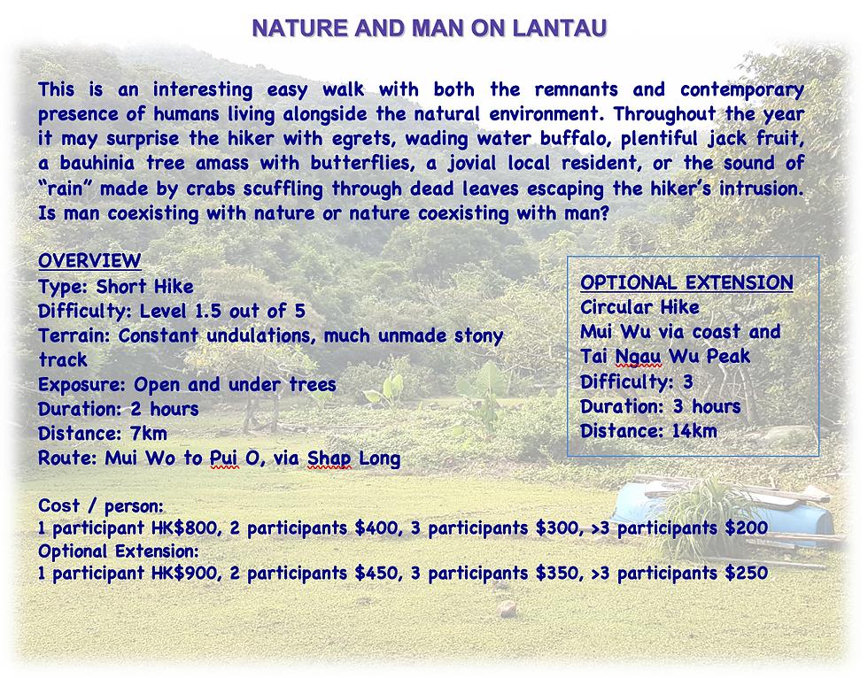 Man and Nature on Lantau