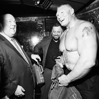 Paul Heyman & Brock Lesnar