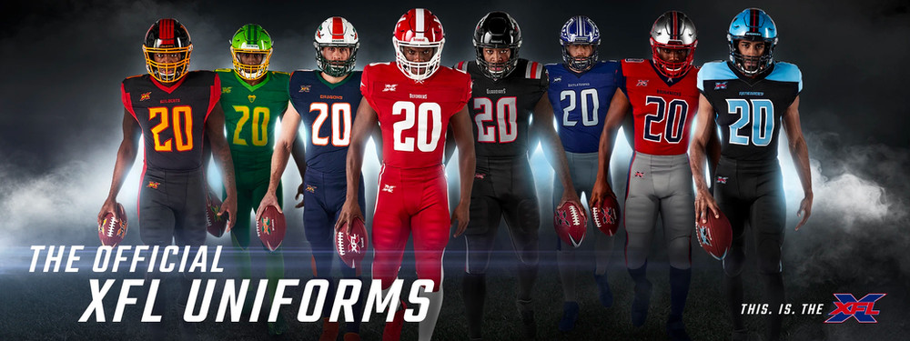 XFL Uniform Reveal