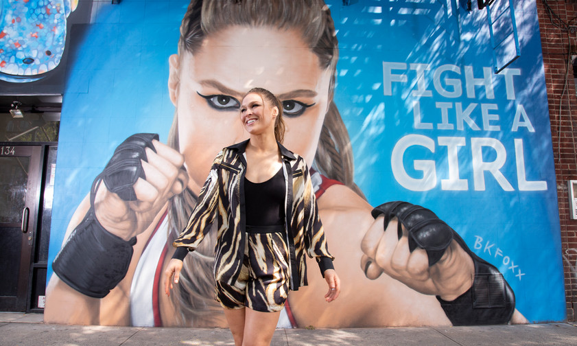 Fight Like A Girl Campaign: Appearance Gallery