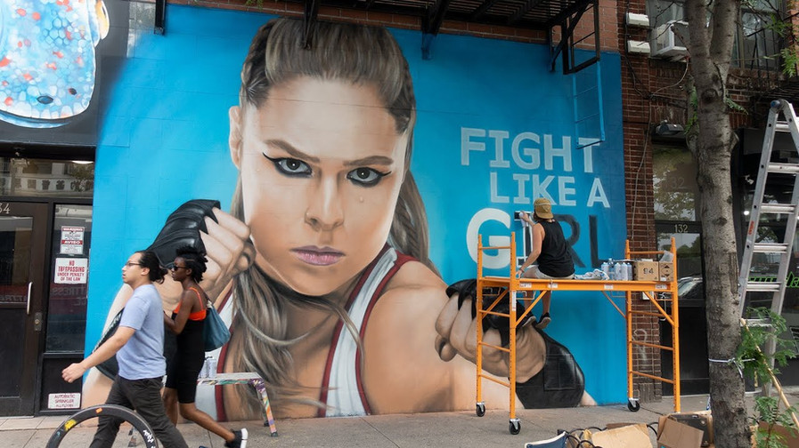Fight Like A Girl Campaign: Ronda Rousey x WWE SummerSlam