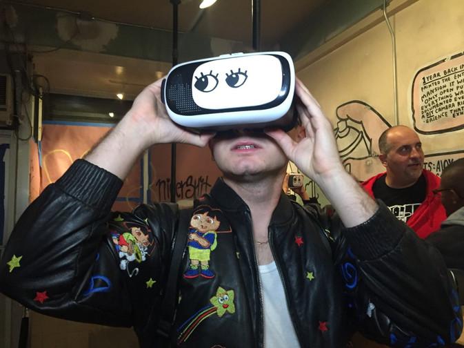 Surplus Candy VR Pop-Up