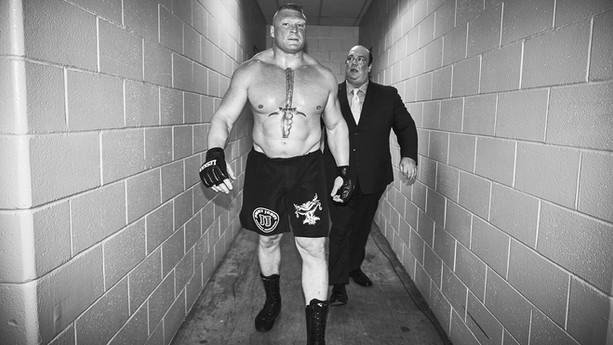 Brock Lesnar & Paul Heyman