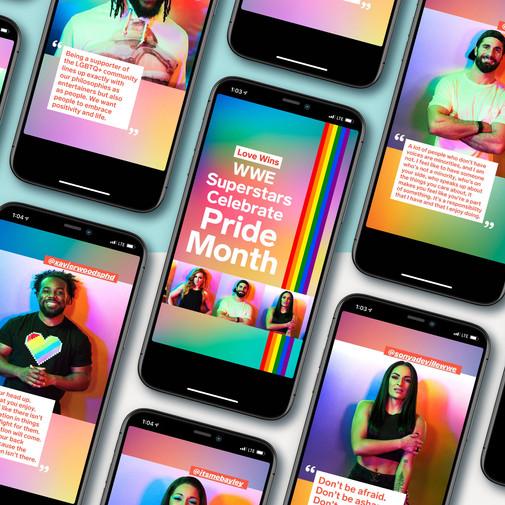 Pride Campaign: Instagram Story