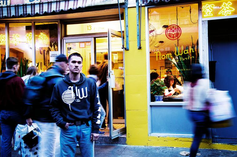Neighborhood Campaign: Nom Wah x Adam Lucas capsule collection