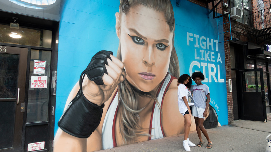 Fight Like A Girl Campaign: BTS Gallery