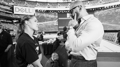 Ronda Rousey & Dave Bautista
