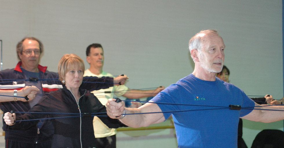 Resistance Band Exercises Fitness Senior Style