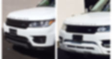 Range Rover Before and After