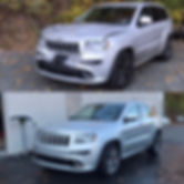 Jeep Grand Cherokee before and after