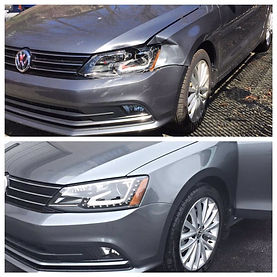 Volkswagen Before and after