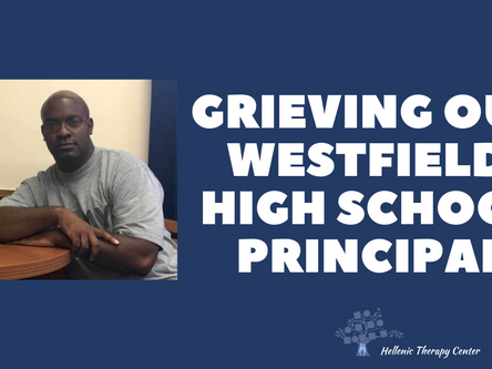 Grieving Our Westfield High School Principal