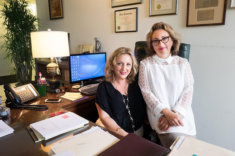 Immigration attorneys Lana Schimmel and Natasha Samus