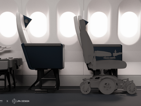 New Airline Seat Design Will Allow Disabled Passengers to Fly in Their Own Wheelchairs