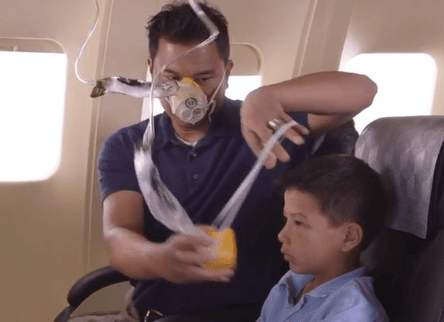 Oxygen Mask – Adult First, then Children … Why?