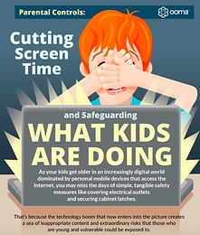 Parental Controls: Cutting Screen Time and Safeguarding What Kids Are Doing