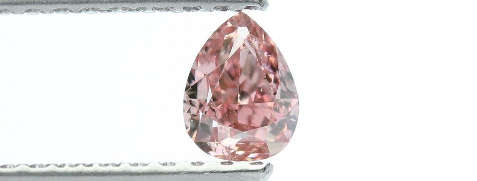 PINK DIAMONDS-0.29 CT FANCY INTENSE PINK SI-2