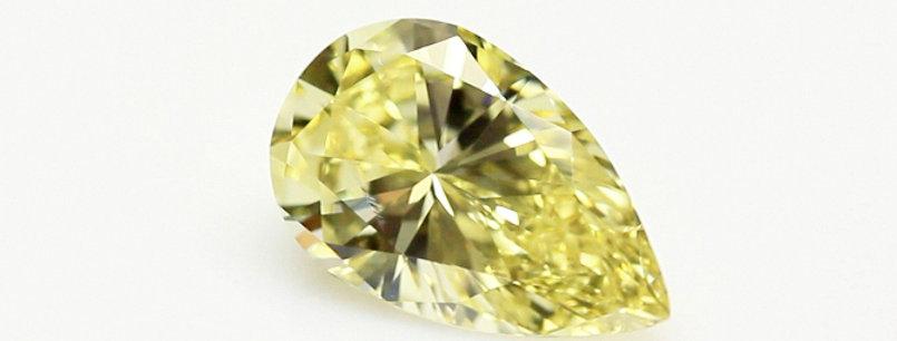 YELLOW DIAMONDS 2.83 CT FANCY INTENSE YELLOW SI-2