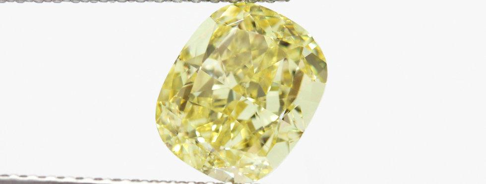 YELLOW DIAMONDS 2.43 CT FANCY INTENSE YELLOW SI-1