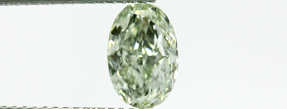 GREEN DIAMOND 1.52 CT FANCY YELLOWISH GREEN SI-1