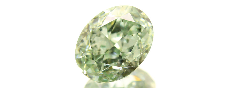 GREEN DIAMONDS 1.01 CT FANCY GREEN SI-2