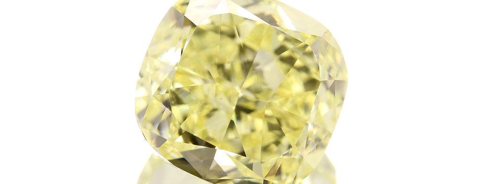 YELLOW DIAMOND 7.01 CT  FANCY YELLOW  VS-2