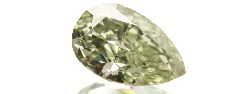 CHAMELEON DIAMOND 0.71 CT FANCY-G-Y-GREEN  VS-1