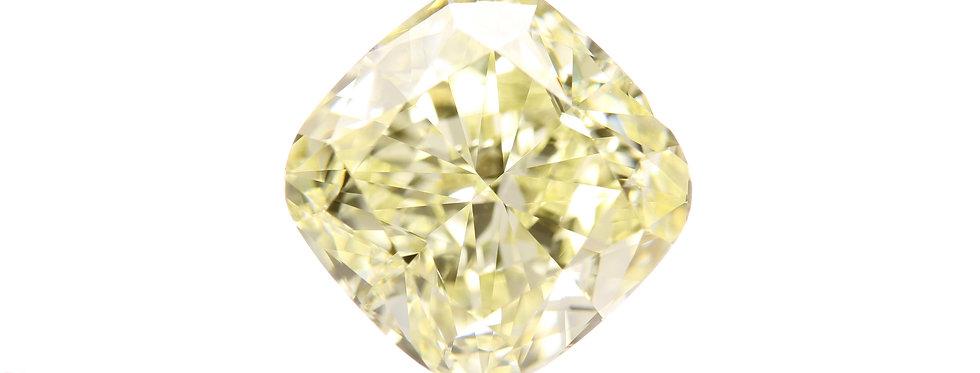 YELLOW DIAMONDS 5.91 CT FANCY LIGHT YELLOW VS-1