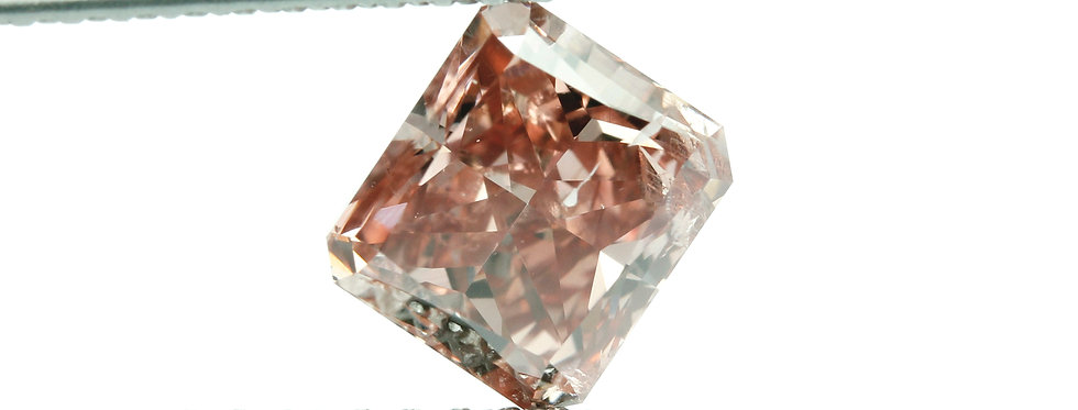 PINK DIAMOND 1.13 CT  FANCY DEEP ORANGY PINK