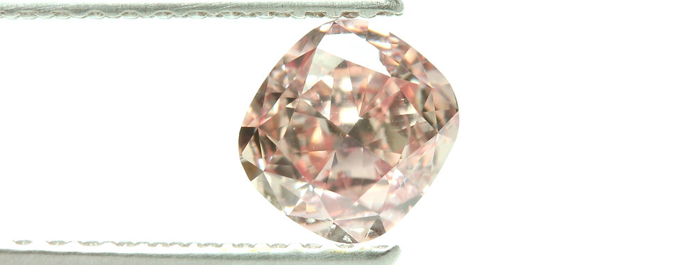 PINK DIAMOND 0.75 CT NATURAL FANCY ORANGY PINK VS-1