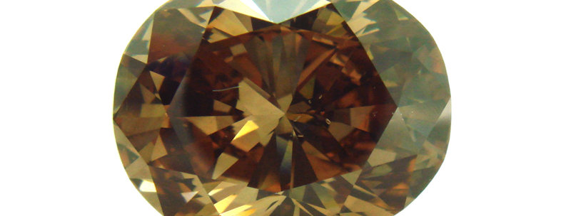 BROWN DIAMONDS 5.06 CT FANCY DARK ORANGE BROWN SI-1
