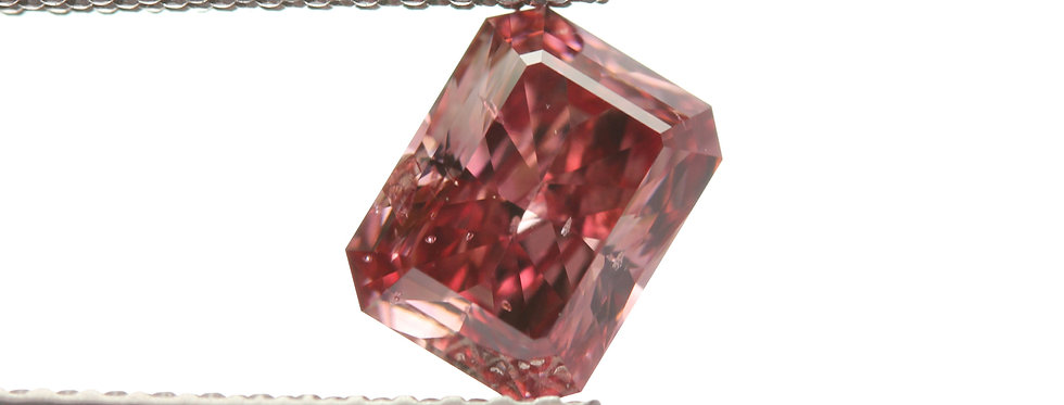 NATURAL FANCY RED DIAMONDS 0.89 CT FANCY RED  I-1