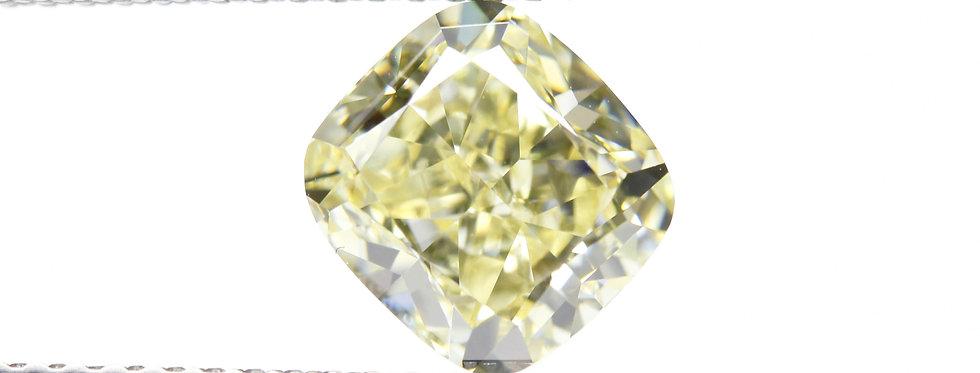 YELLOW DIAMONDS 2.03 CT FANCY LIGHT YELLOW VS-2