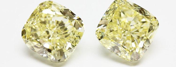 YELLOW DIAMONDS 14.71 CT T/W FANCY YELLOW VS-VVS