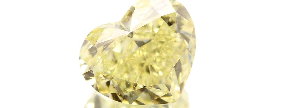 YELLOW DIAMONDS 3.03 CT FANCY YELLOW  SI-1