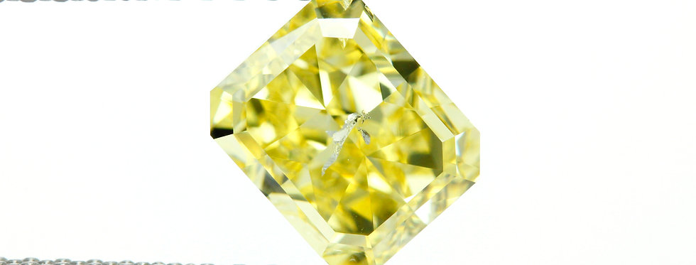 YELLOW DIAMONDS 1.51 CT FANCY INTENSE YELLOW I-1