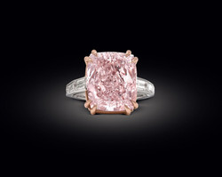 Pink Diamond Ring.