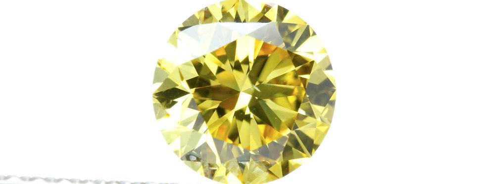YELLOW DIAMONDS 1.03 CT FANCY VIVID YELLOW VS-2