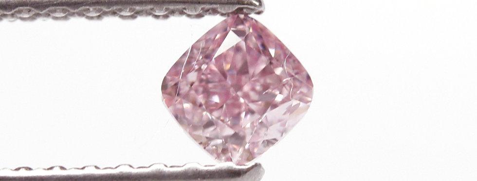 PINK DIAMOND 0.25 CT FANCY INTENSE PURPLISH PINK SI-2