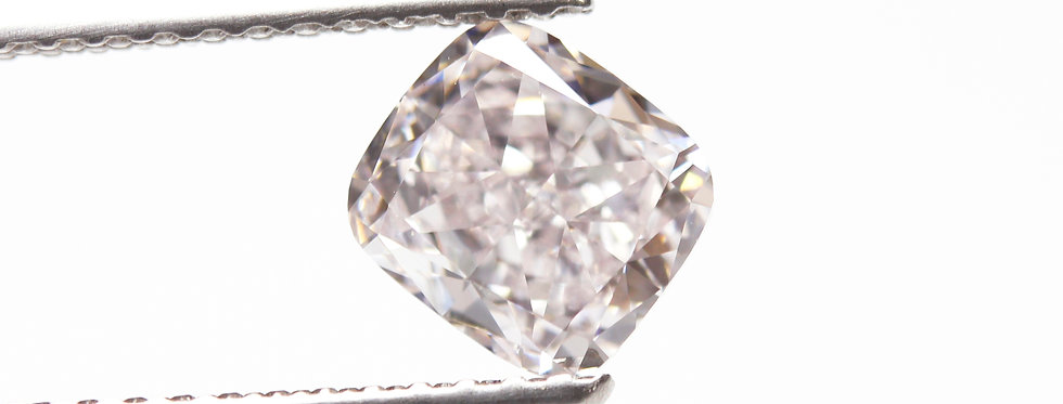 PINK DIAMOND 1.01 CT FANCY LIGHT PURPLISH PINK VS1
