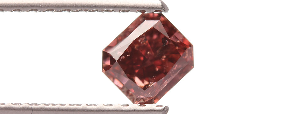 NATURAL RED DIAMONDS 0.40 CT FANCY RED I-1