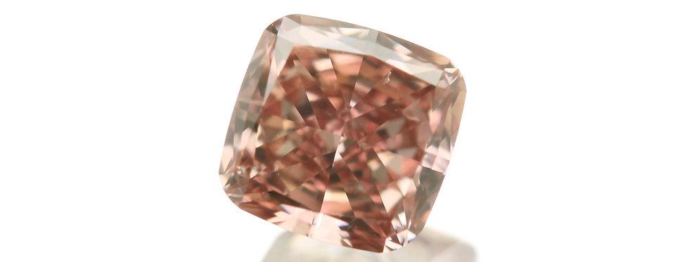 PINK DIAMOND 0.31 CT FANCY DEEP ORANGY PINK SI-1